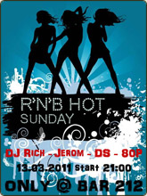 RNB Hot Sunday в Баре 212 (Ростов-на-Дону)