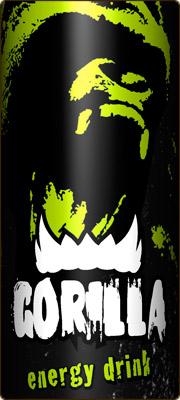 Энергетический напиток Gorilla.